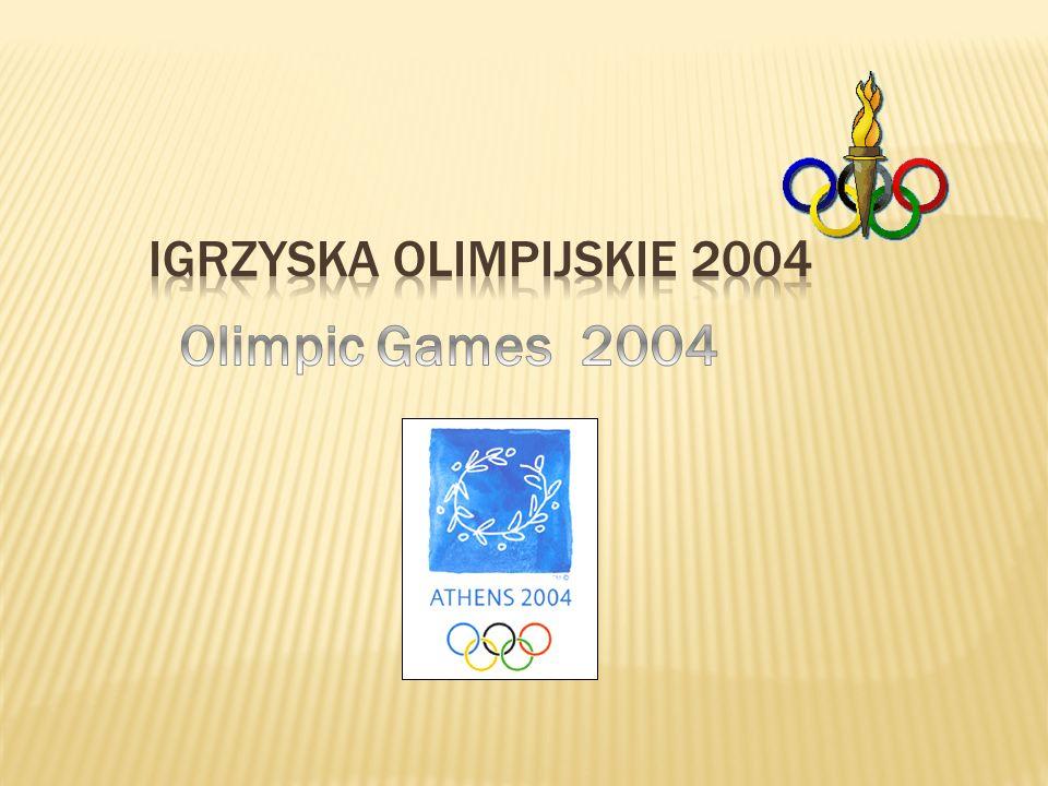 Igrzyska olimpijskie 2004 Olimpic Games 2004