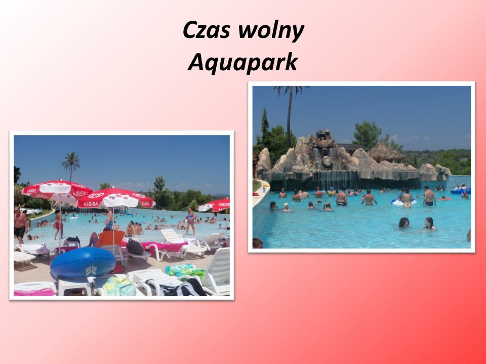Czas wolny Aquapark