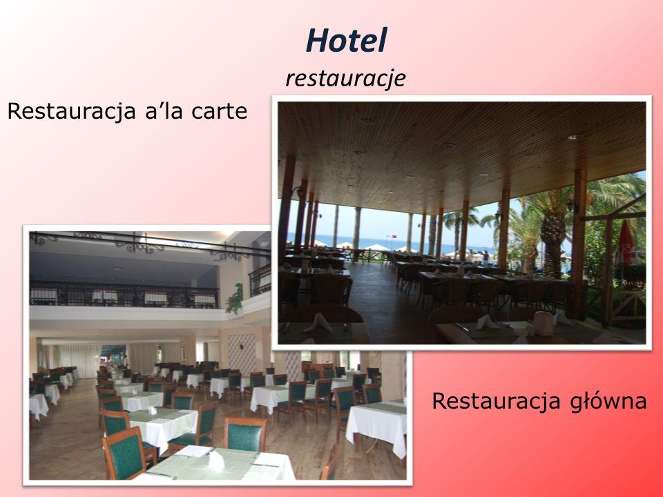 Hotel restauracje Restauracja a'la carte Restauracja główna