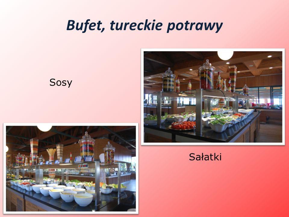 Bufet, tureckie potrawy