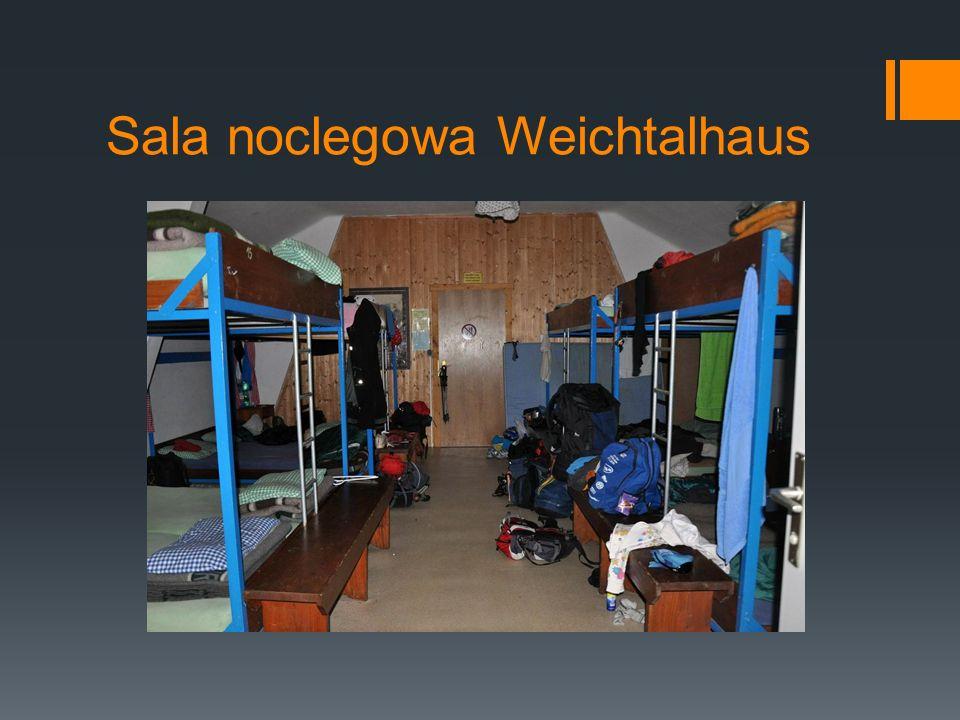 Sala noclegowa Weichtalhaus