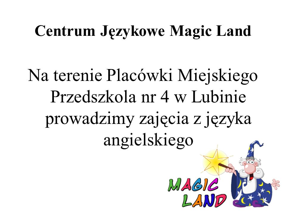 Centrum Językowe Magic Land