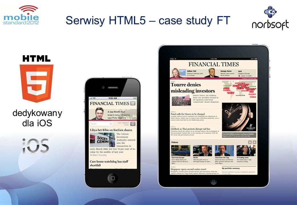 Serwisy HTML5 – case study FT