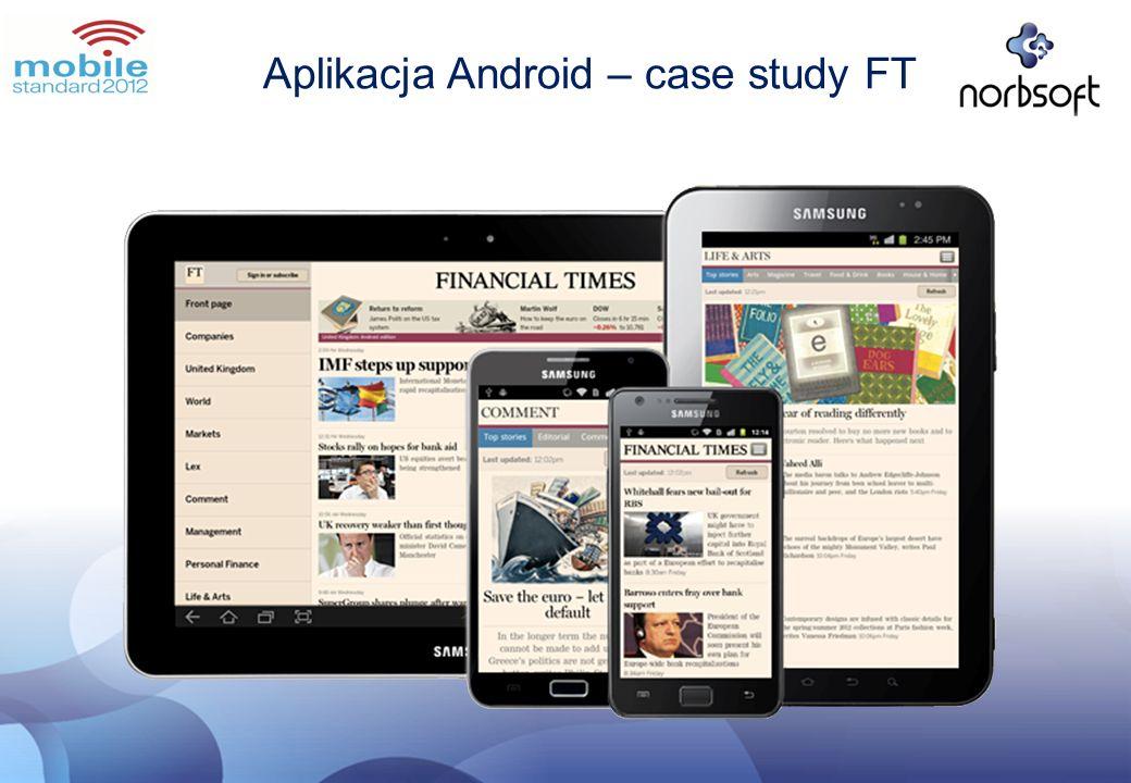 Aplikacja Android – case study FT