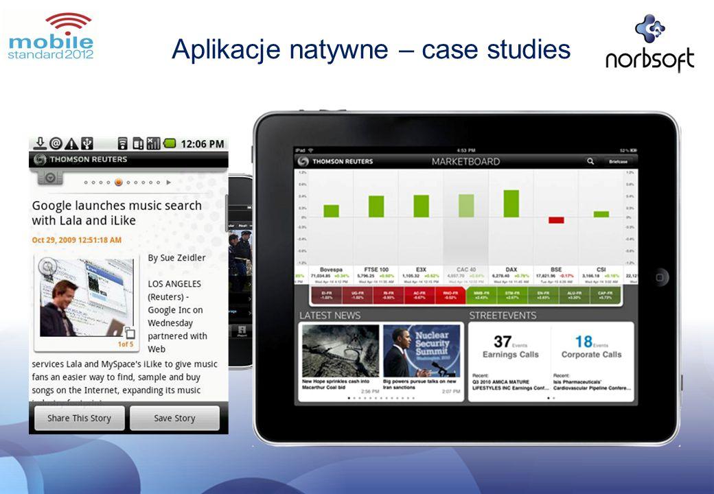 Aplikacje natywne – case studies