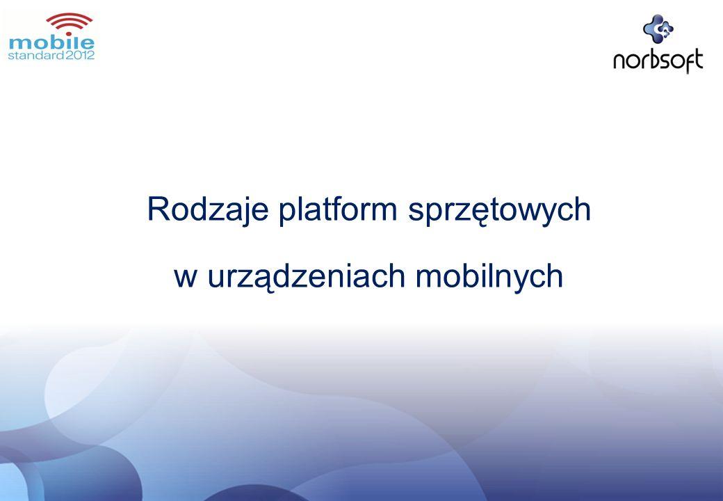 Rodzaje platform sprzętowych w urządzeniach mobilnych