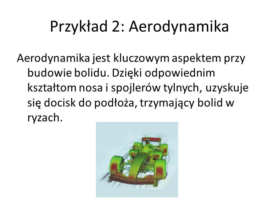 Przykład 2: Aerodynamika