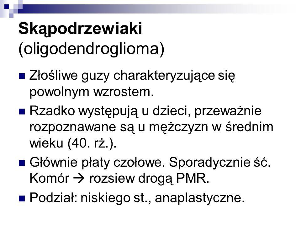 Skąpodrzewiaki (oligodendroglioma)