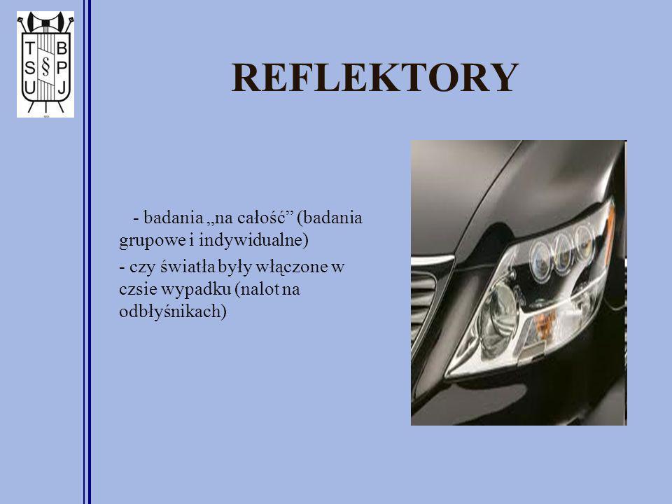 """REFLEKTORY - badania """"na całość (badania grupowe i indywidualne)"""