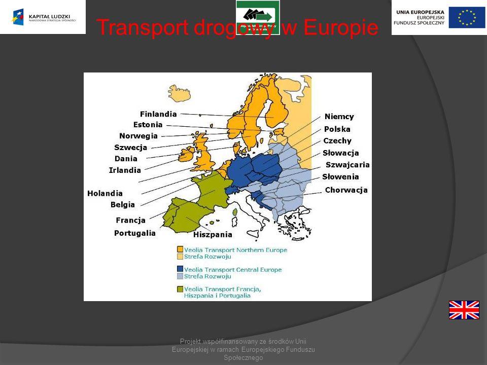 Transport drogowy w Europie