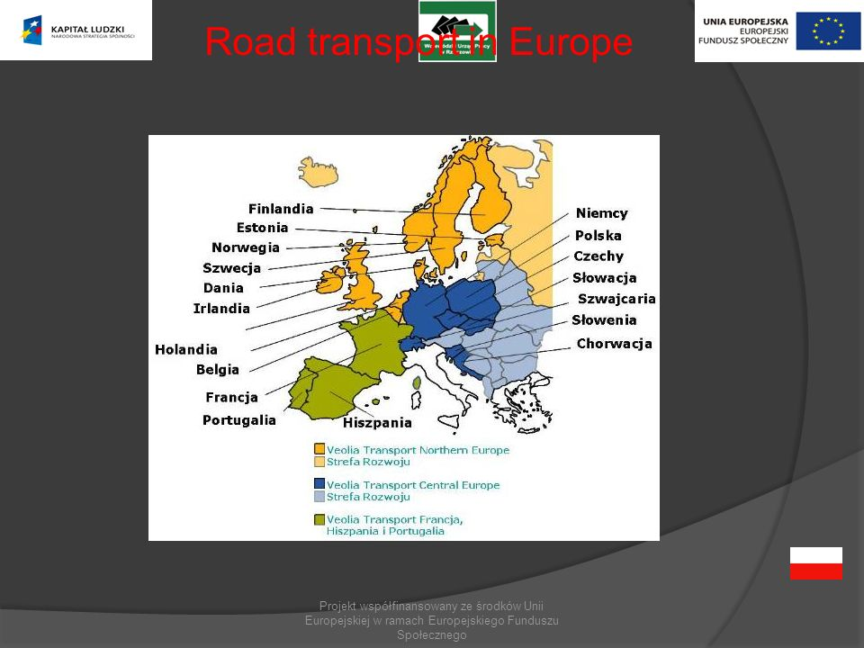 Road transport in Europe