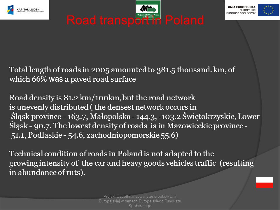 Road transport in Poland