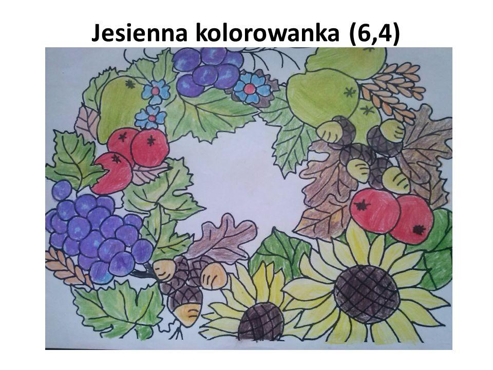 Jesienna kolorowanka (6,4)