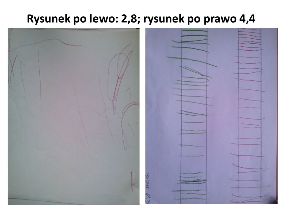 Rysunek po lewo: 2,8; rysunek po prawo 4,4