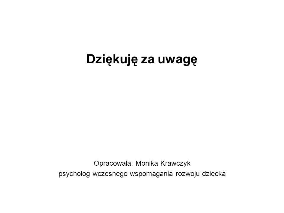Dziękuję za uwagę Opracowała: Monika Krawczyk