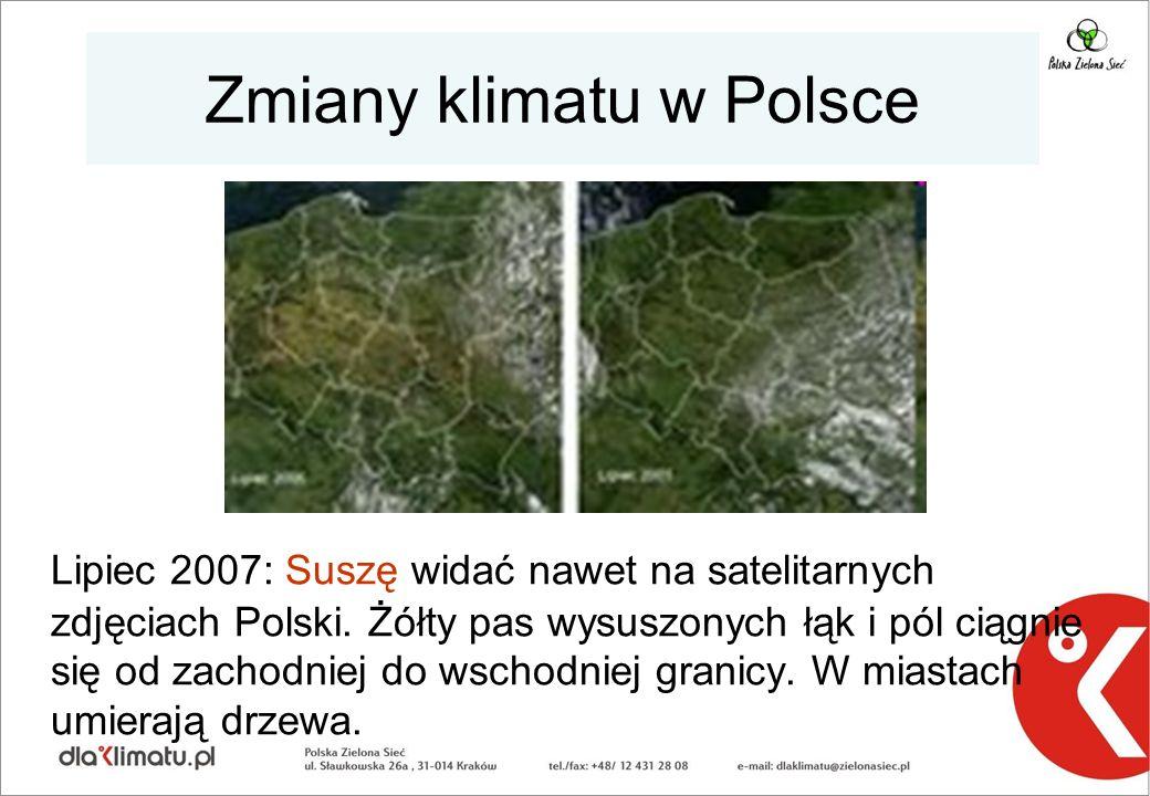 Zmiany klimatu w Polsce