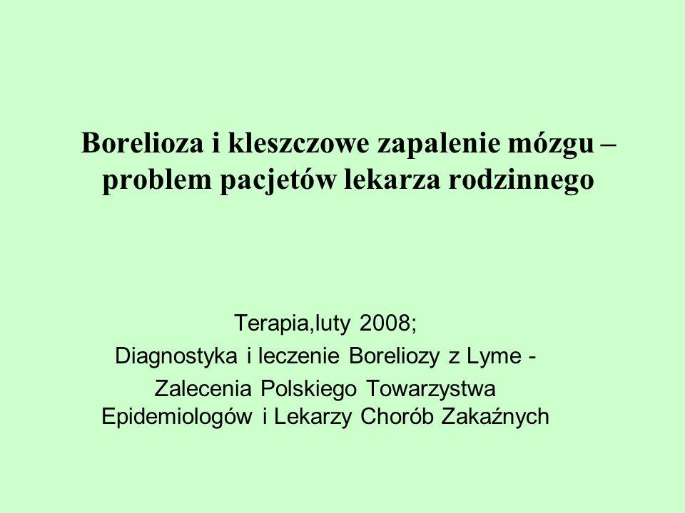Diagnostyka i leczenie Boreliozy z Lyme -