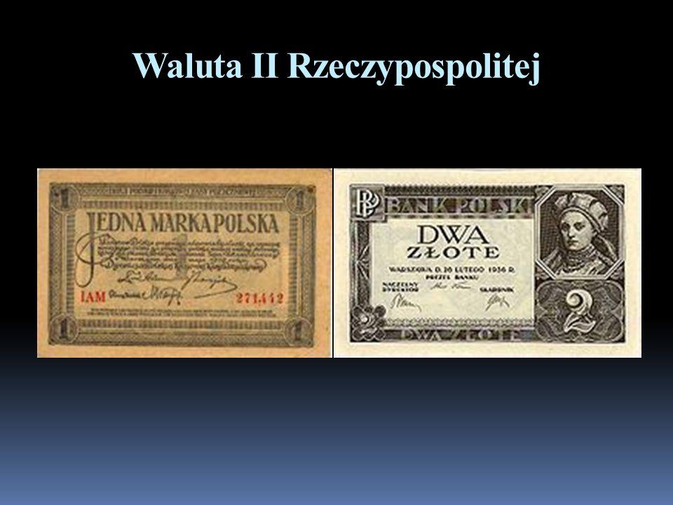 Waluta II Rzeczypospolitej