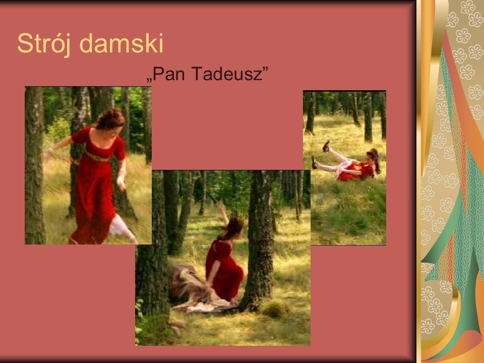 """Strój damski """"Pan Tadeusz"""