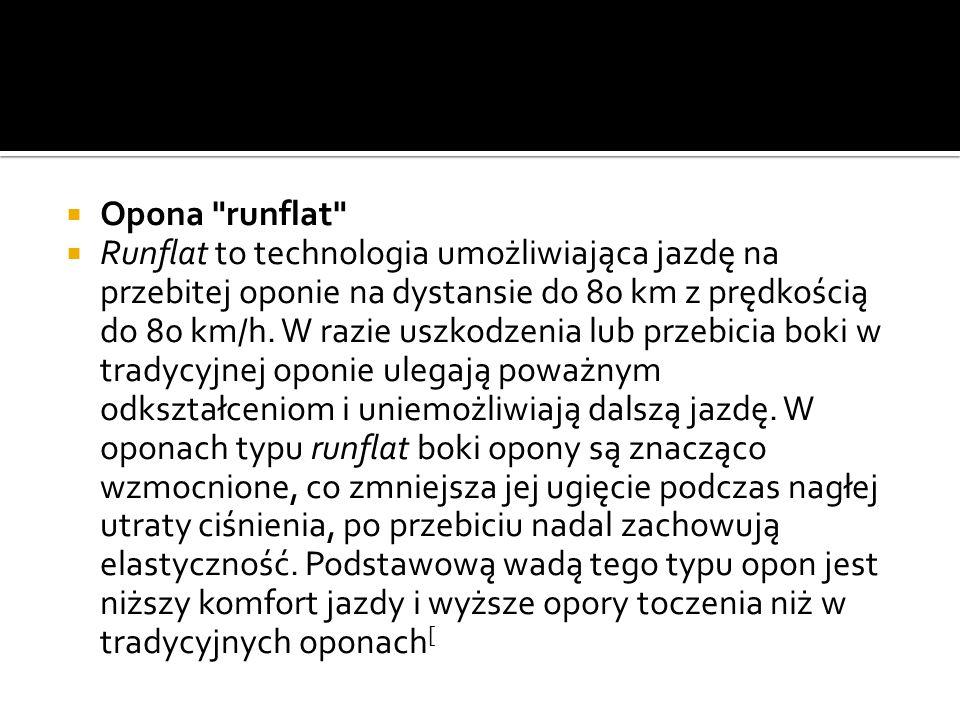 Opona runflat