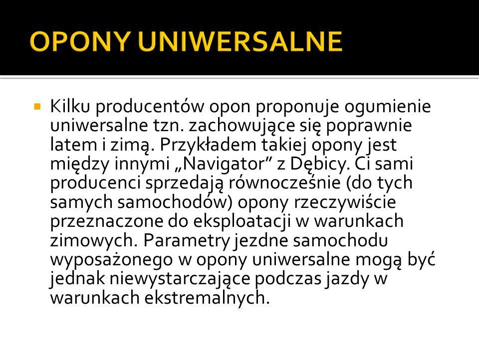 OPONY UNIWERSALNE