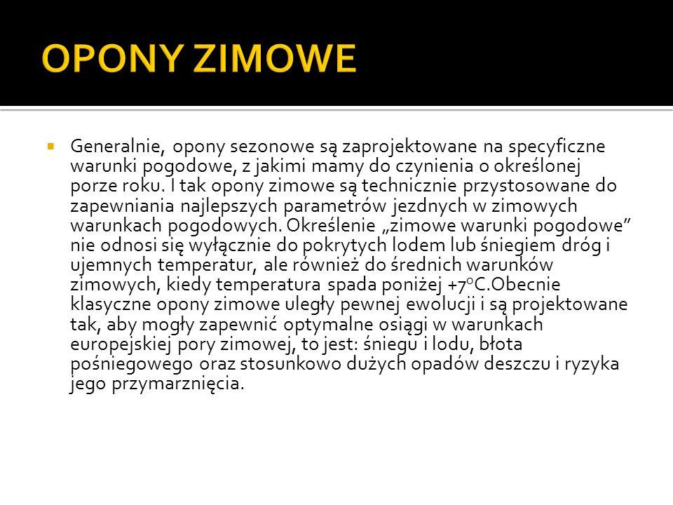 OPONY ZIMOWE