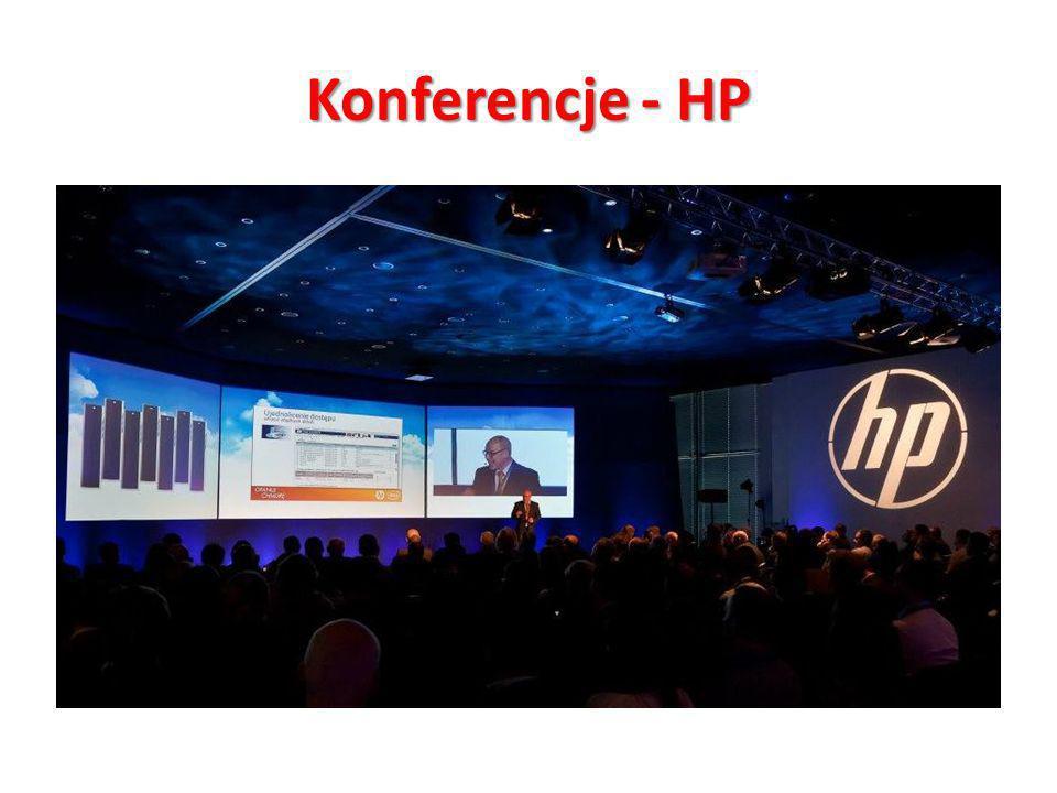 "Konferencje - HP Konferencja ""Opanuj Chmurę – Klient: HP"