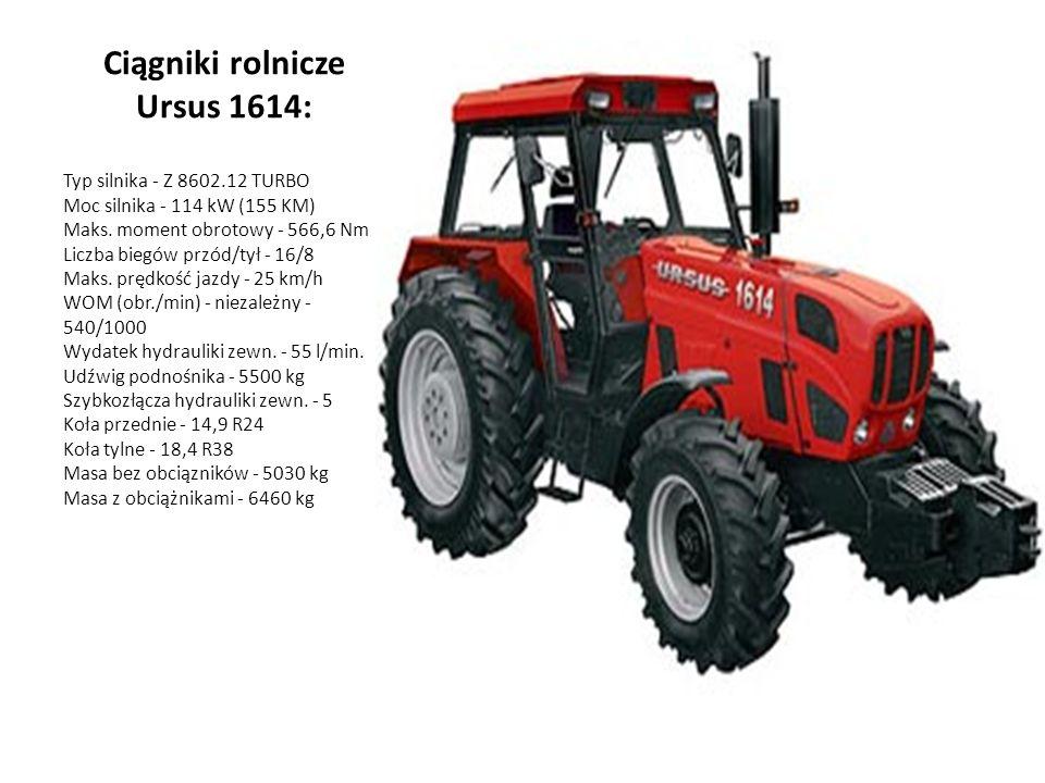 Ciągniki rolnicze Ursus 1614: