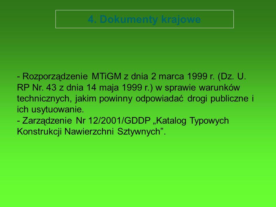 4. Dokumenty krajowe