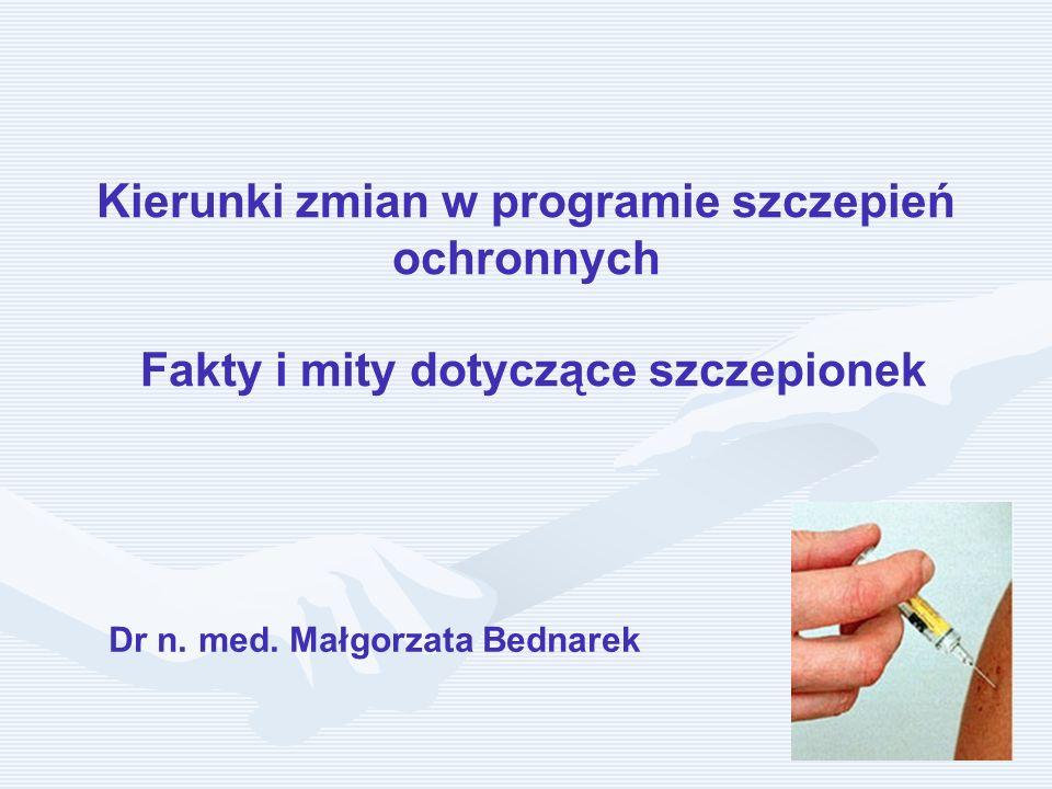 Dr n. med. Małgorzata Bednarek
