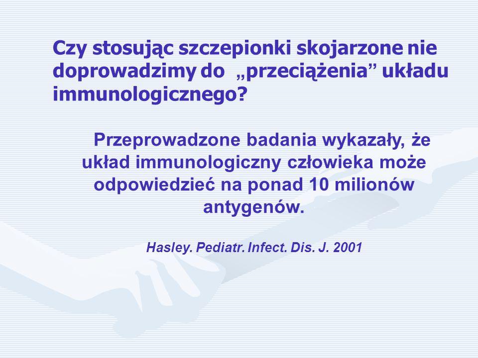 Hasley. Pediatr. Infect. Dis. J. 2001