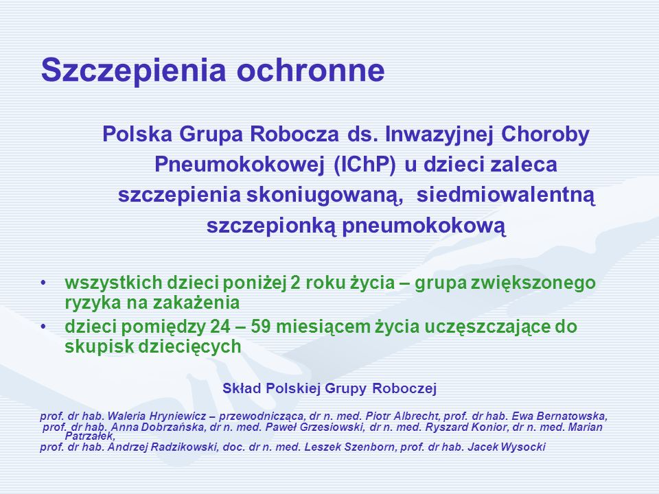 Skład Polskiej Grupy Roboczej
