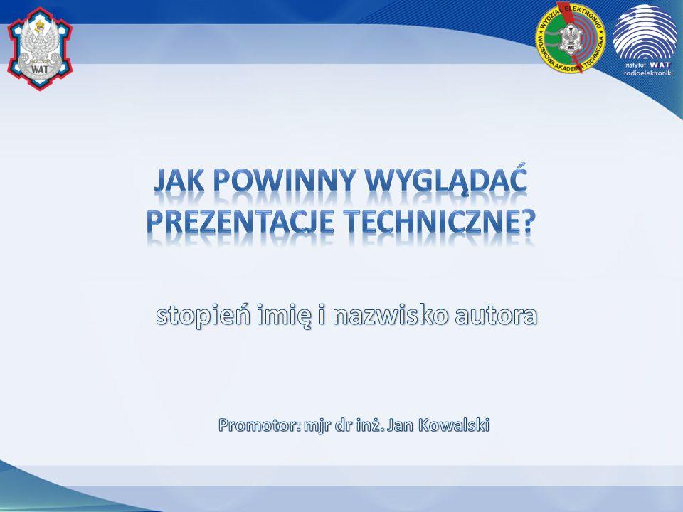 Jak powinny wyglądać prezentacje techniczne