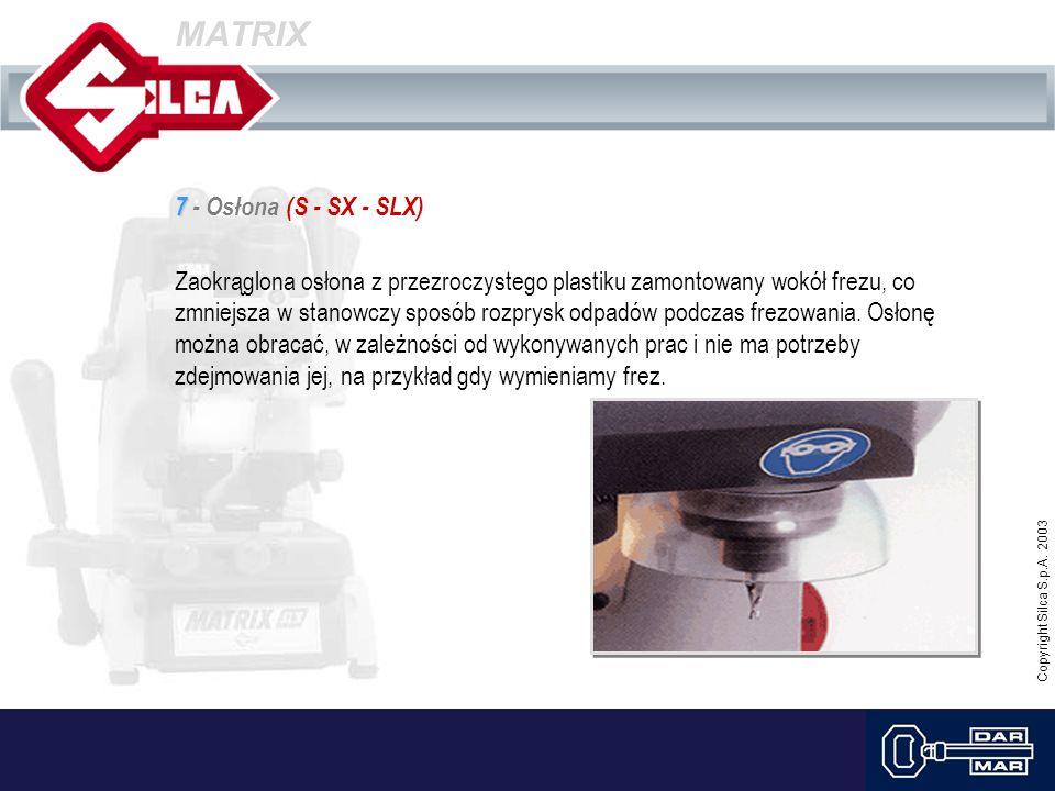 MATRIX 7 - Osłona (S - SX - SLX)