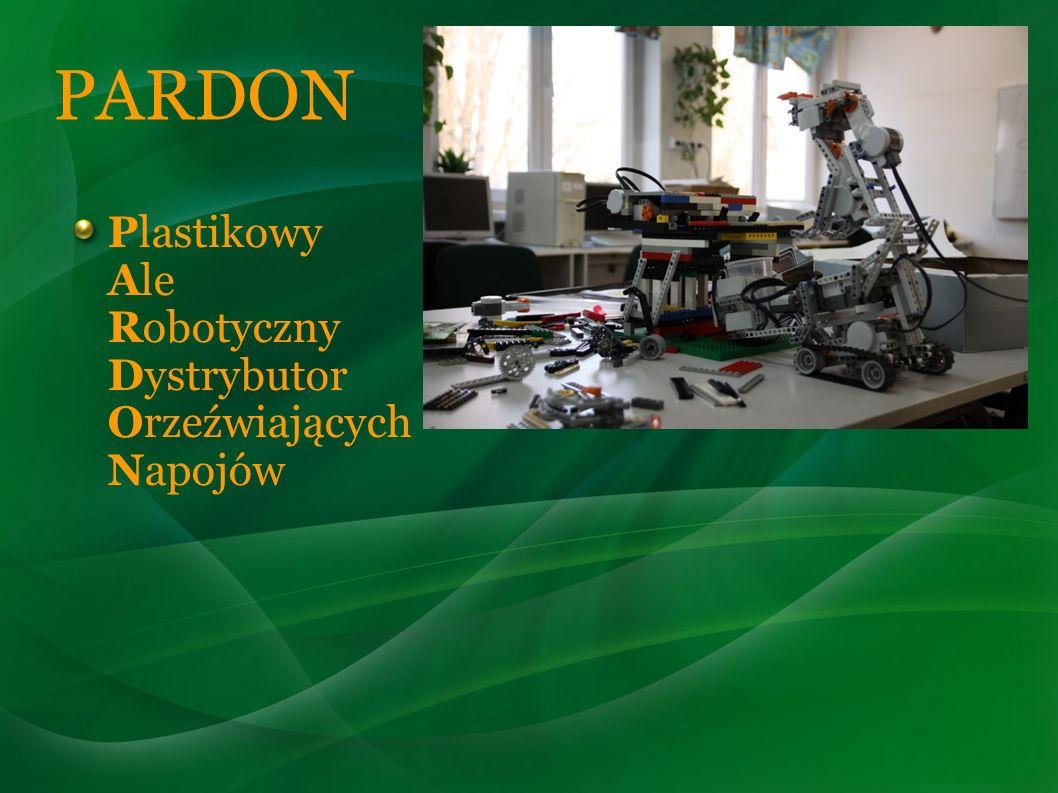 PARDON Plastikowy Ale Robotyczny Dystrybutor Orzeźwiających Napojów