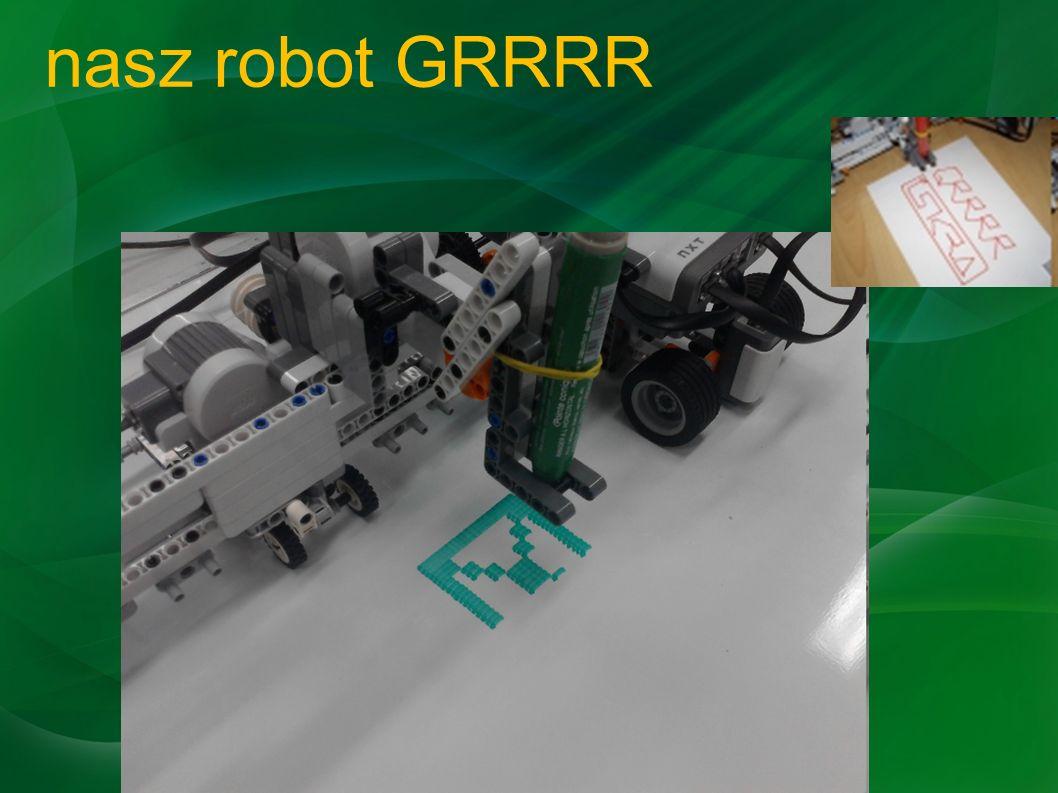 nasz robot GRRRR
