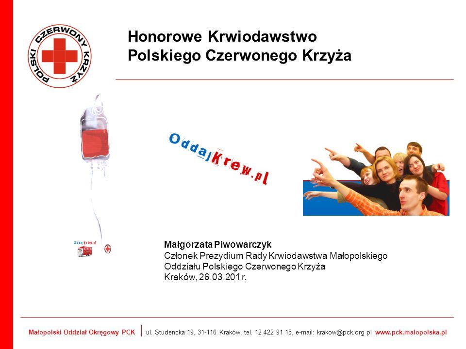 Honorowe Krwiodawstwo Polskiego Czerwonego Krzyża