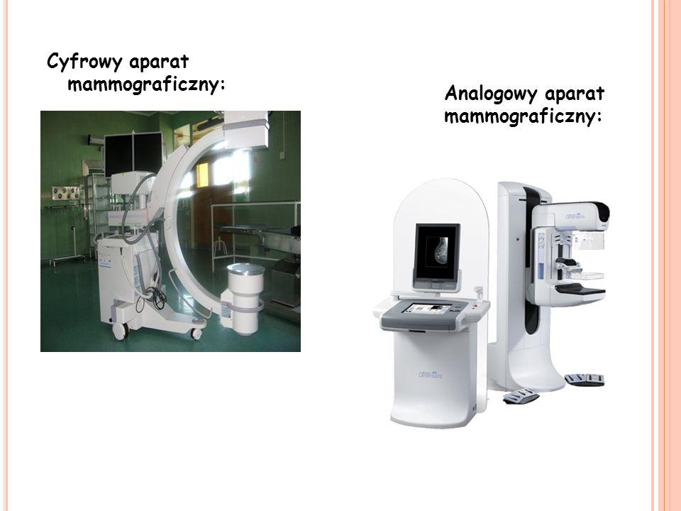 Cyfrowy aparat mammograficzny: