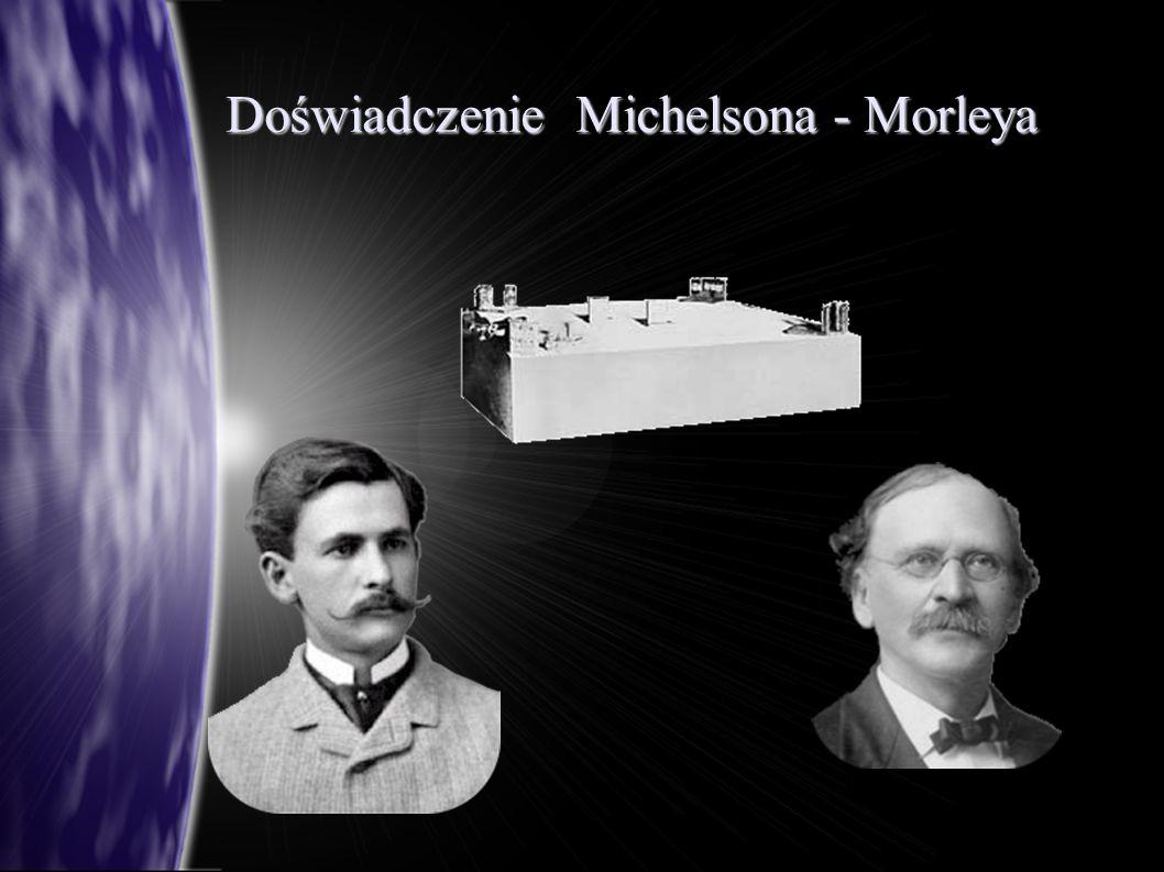 Doświadczenie Michelsona - Morleya
