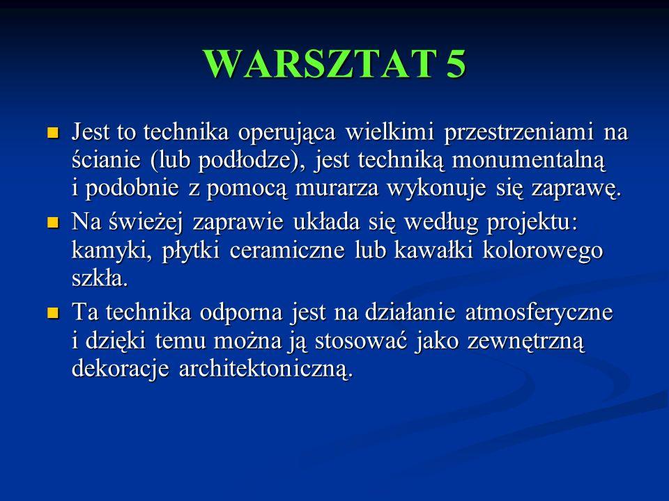 WARSZTAT 5