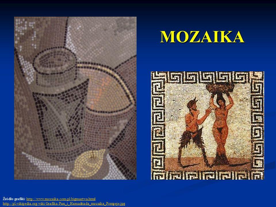 MOZAIKA Źródło grafiki: http://www.mozaika.com.pl/bigmartwa.html