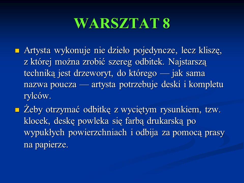 WARSZTAT 8