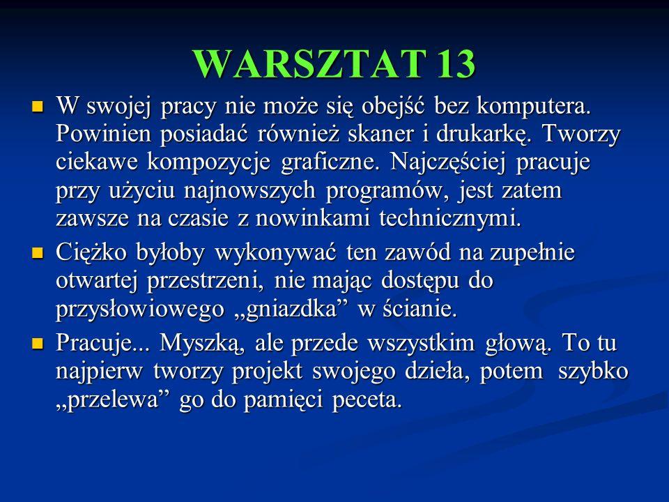 WARSZTAT 13