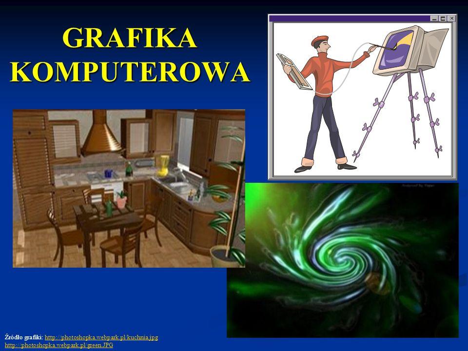 GRAFIKA KOMPUTEROWAŹródło grafiki: http://photoshopka.webpark.pl/kuchnia.jpg.