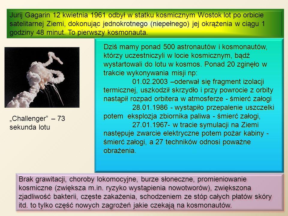 """""""Challenger – 73 sekunda lotu"""