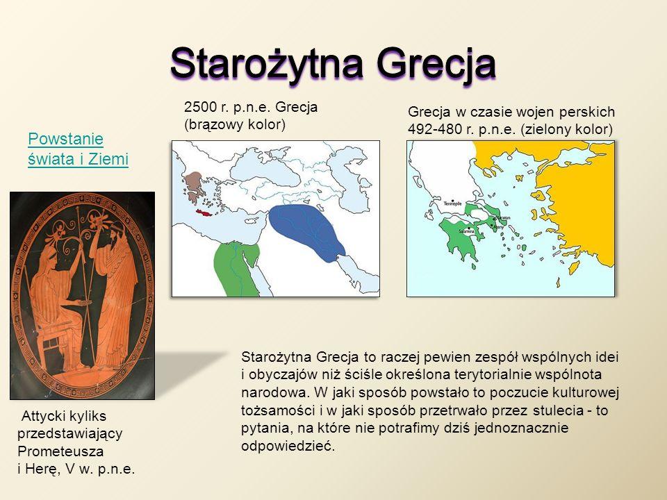 Starożytna Grecja Powstanie świata i Ziemi