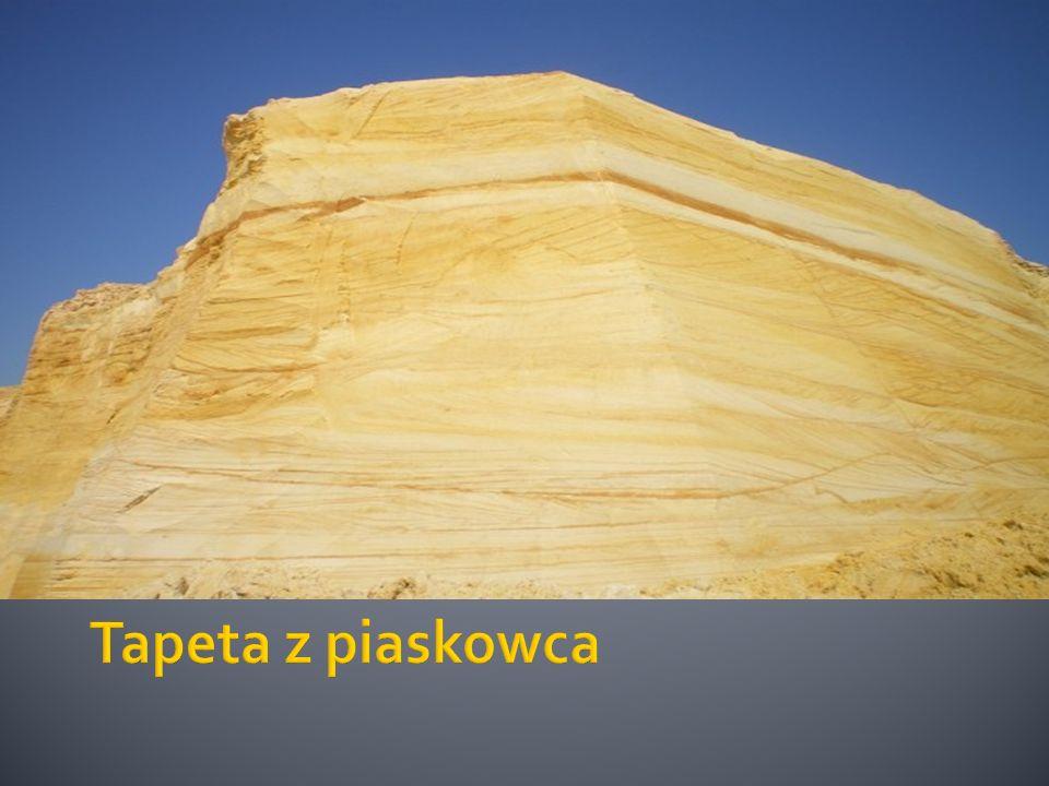 Tapeta z piaskowca