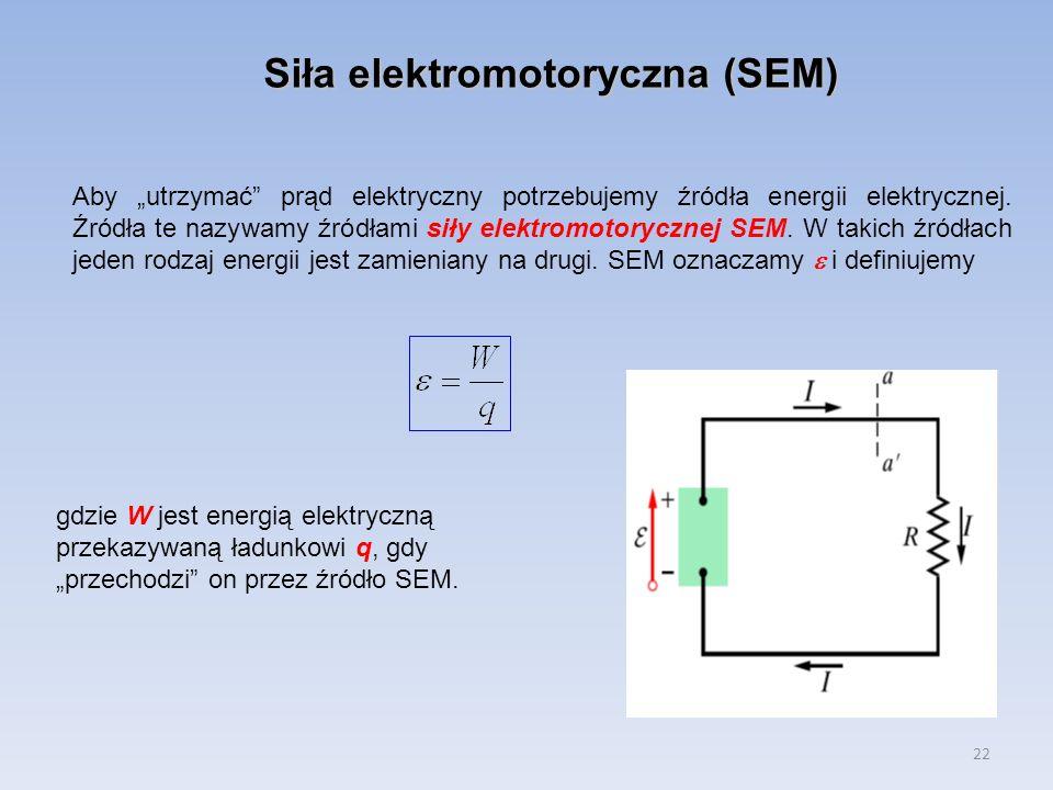 Siła elektromotoryczna (SEM)
