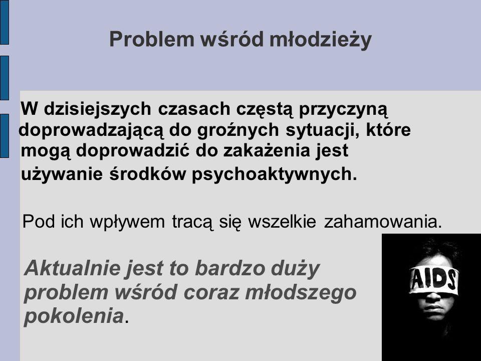Problem wśród młodzieży