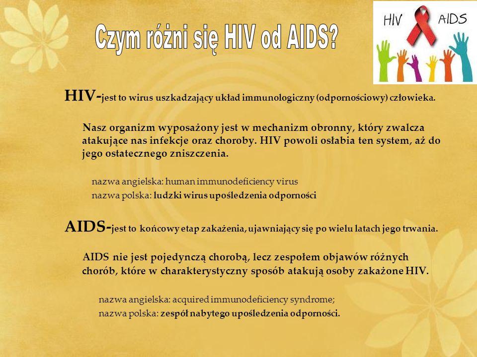 Czym różni się HIV od AIDS